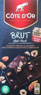 Brut noir - noisettes grillées & amandes - Product