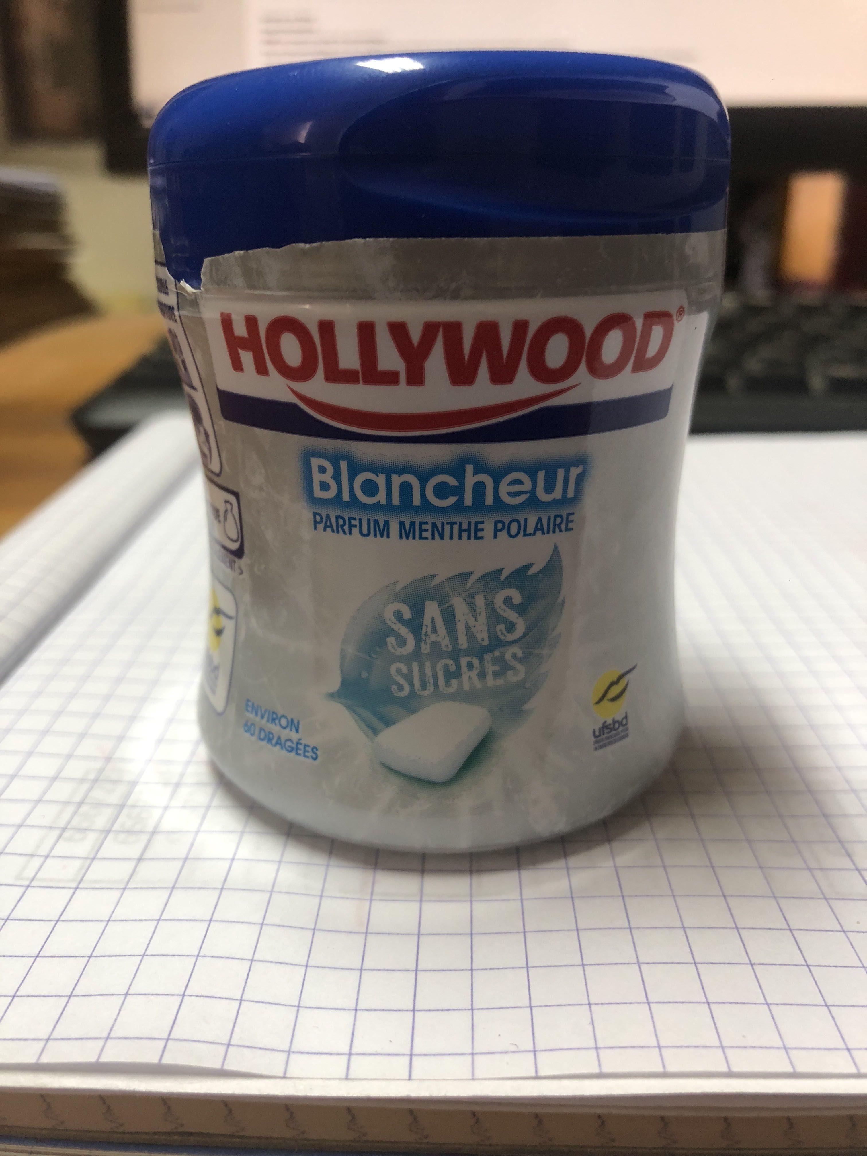 Chewing-gum blancheur menthe polaire sans sucres - Produit - fr