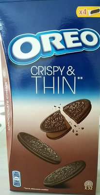 Crispy and thin chocolat - Product