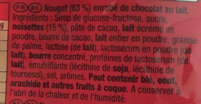 Mini Nougatti - Ingredients
