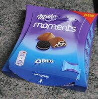 Milka moments Oreo - Produit - es