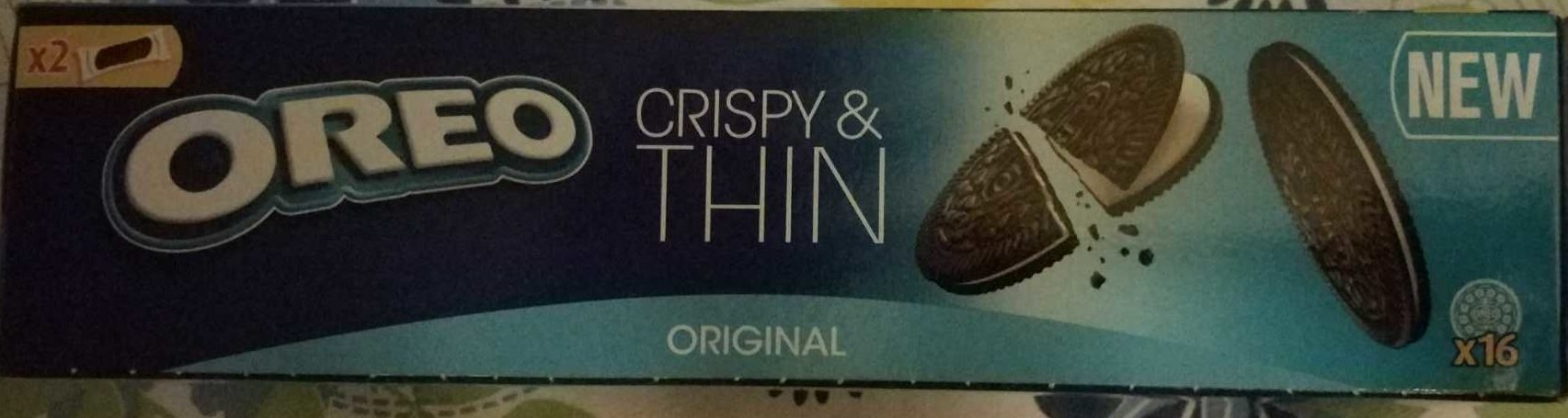 Biscuits Oreo Crispy and Thin - Product