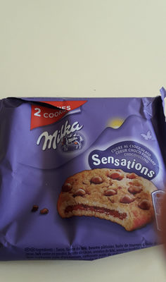 Cookie Sensations - Ingrédients