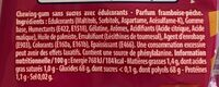 2fruity - Informations nutritionnelles - fr