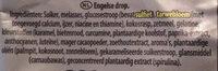 Liquorice Allsorts - Ingrediënten - nl