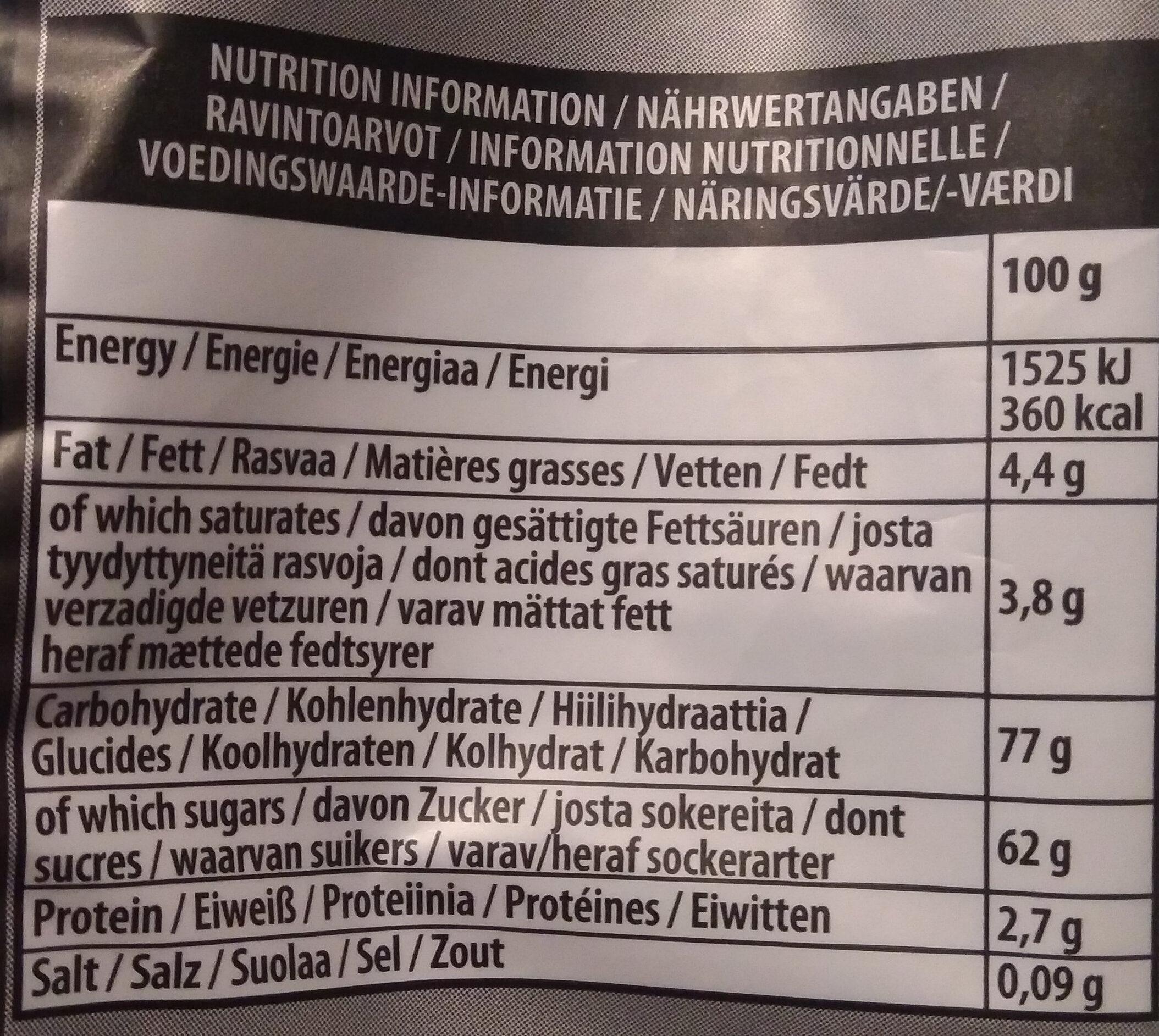 Liquorice Allsorts - Voedingswaarden - nl