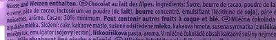 Alpenmilch alpine milk - Ingrédients - fr