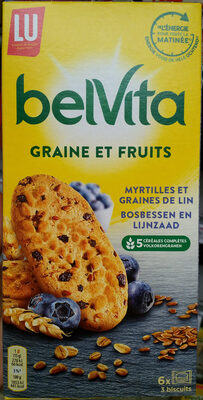 Belvita Graine et Fruits - Product - fr