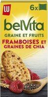 Graines et fruits - Framboises et graines de chia - Product - fr