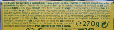 Belvita Graine et fruits - Ingredients - fr