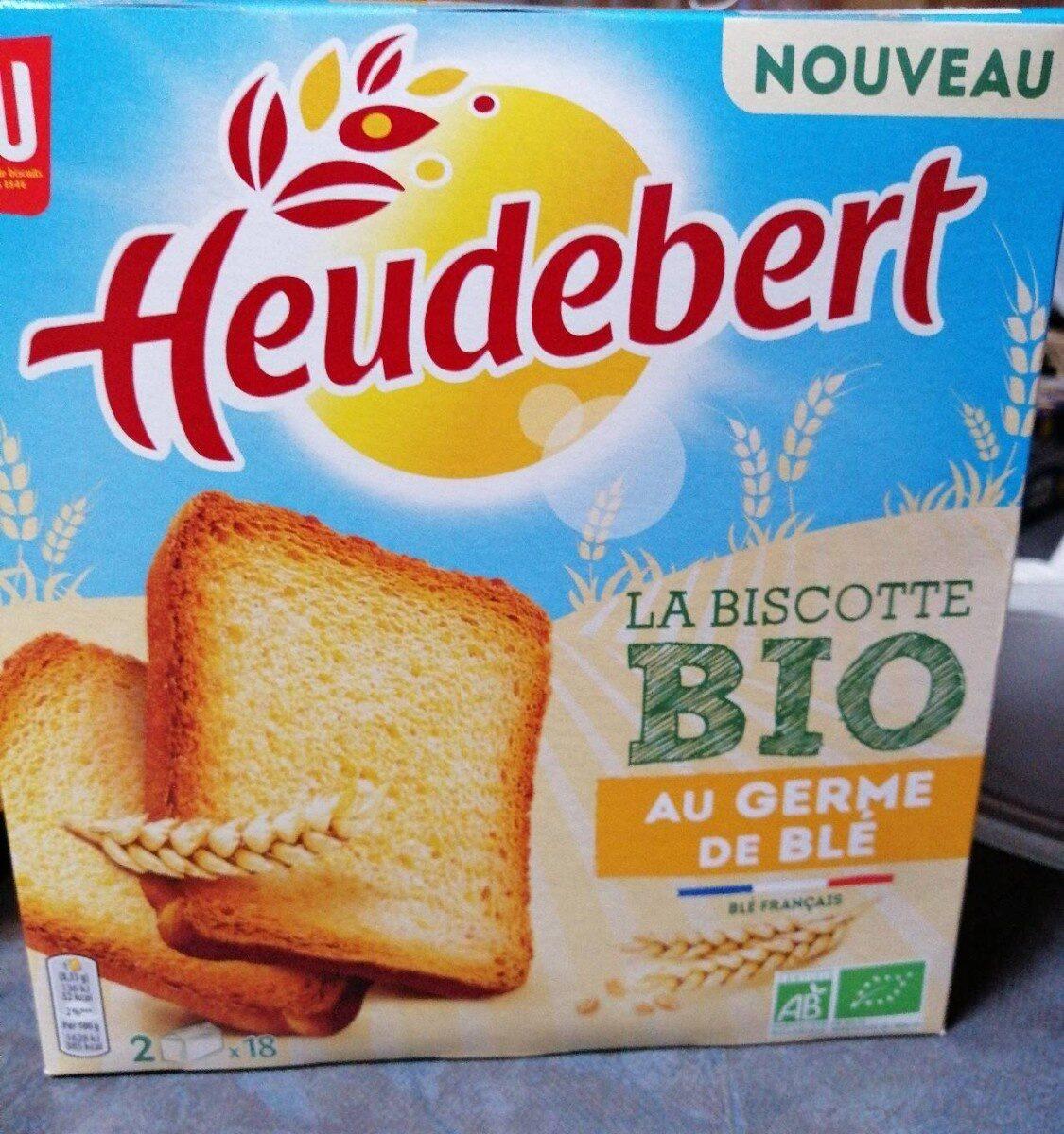 La Biscotte Bio au germé de blé - Prodotto - fr