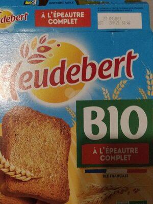 Biscotte Bio A l'épeautre Complet - Produit - fr
