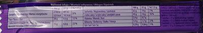 Waffelini Chocomax - Informations nutritionnelles - pl