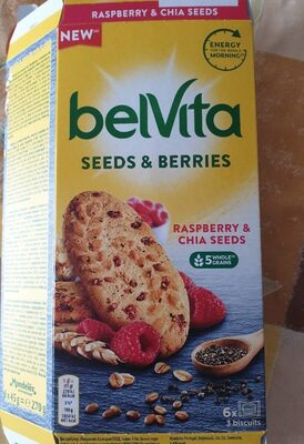Seeds & berries - Raspberry & chia seeds - Prodotto - es