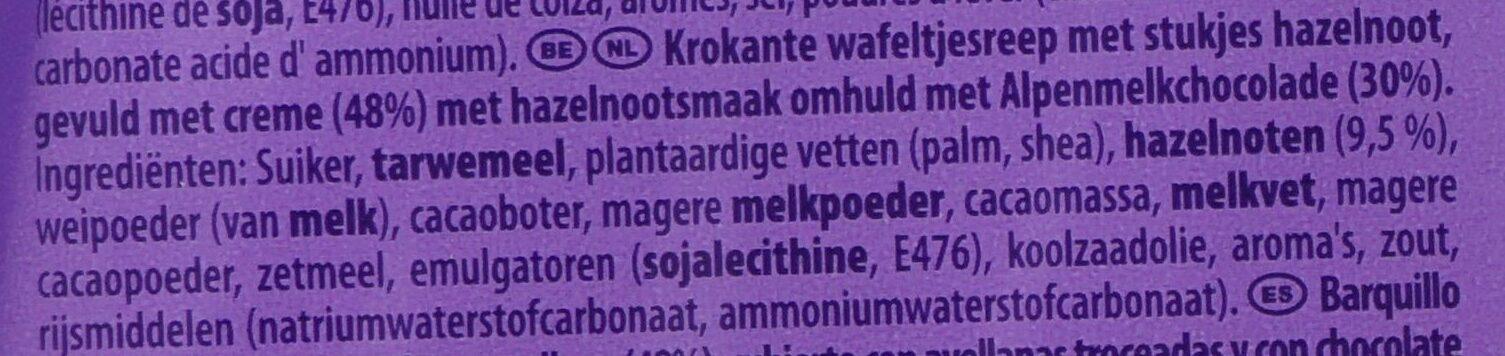 Nussini 5er Multipack - Ingrediënten - nl