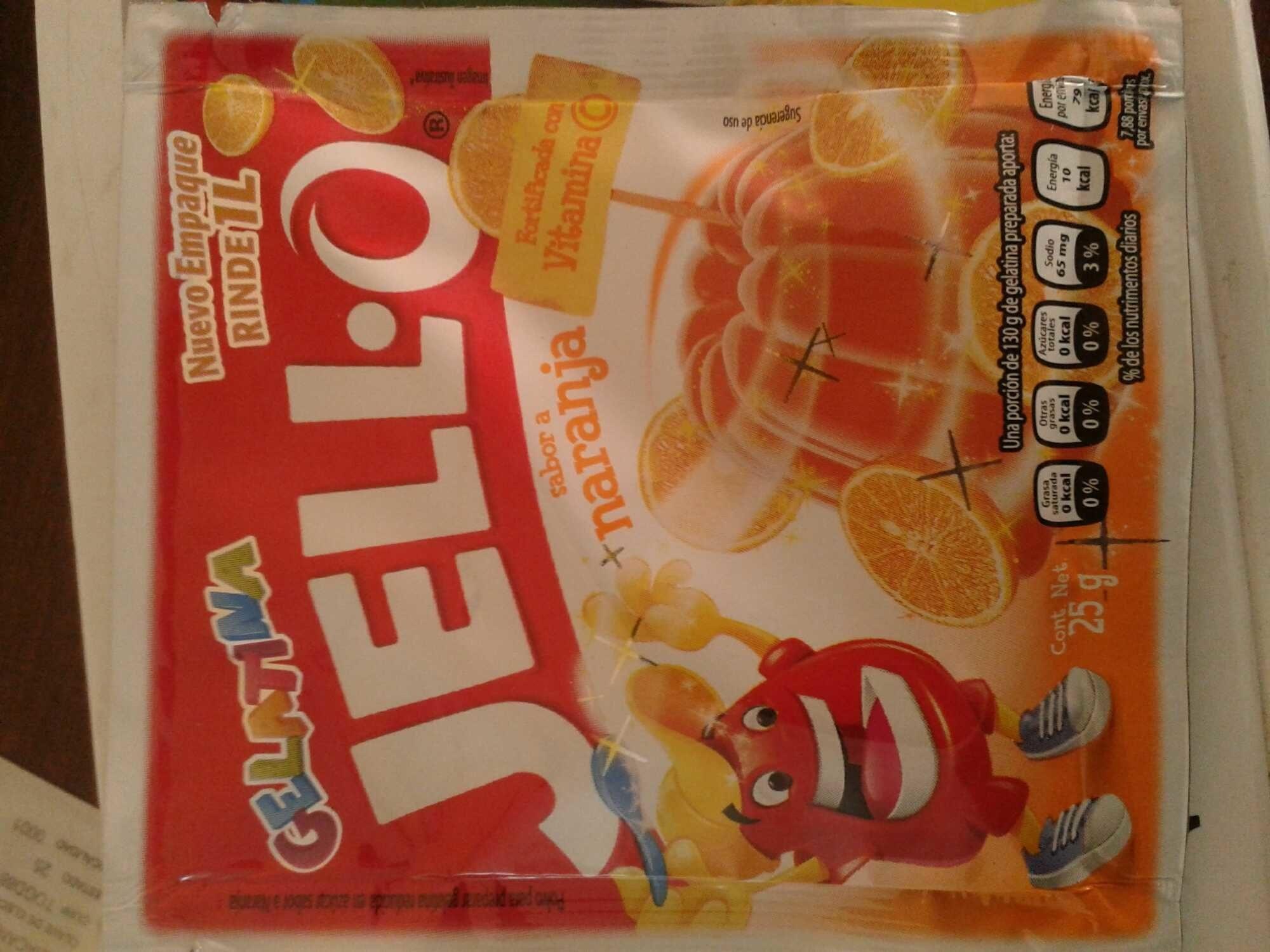 Gelatina Jell-o - Product - es