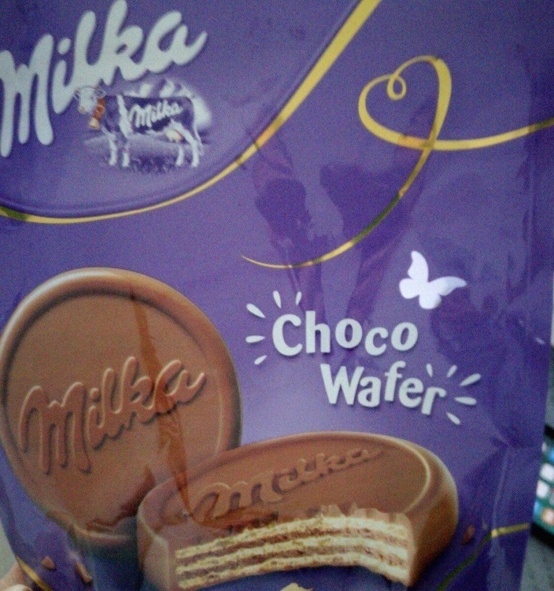 Milka choco wafer - Prodotto - fr