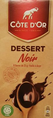 Dessert noir - Product