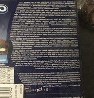 Oreo Biscuits cacaotés enrobés chocolat lait les 2 boites de - Ingrediënten