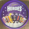 Cadbury Heroes Chocolate Tub, 660 G - Product