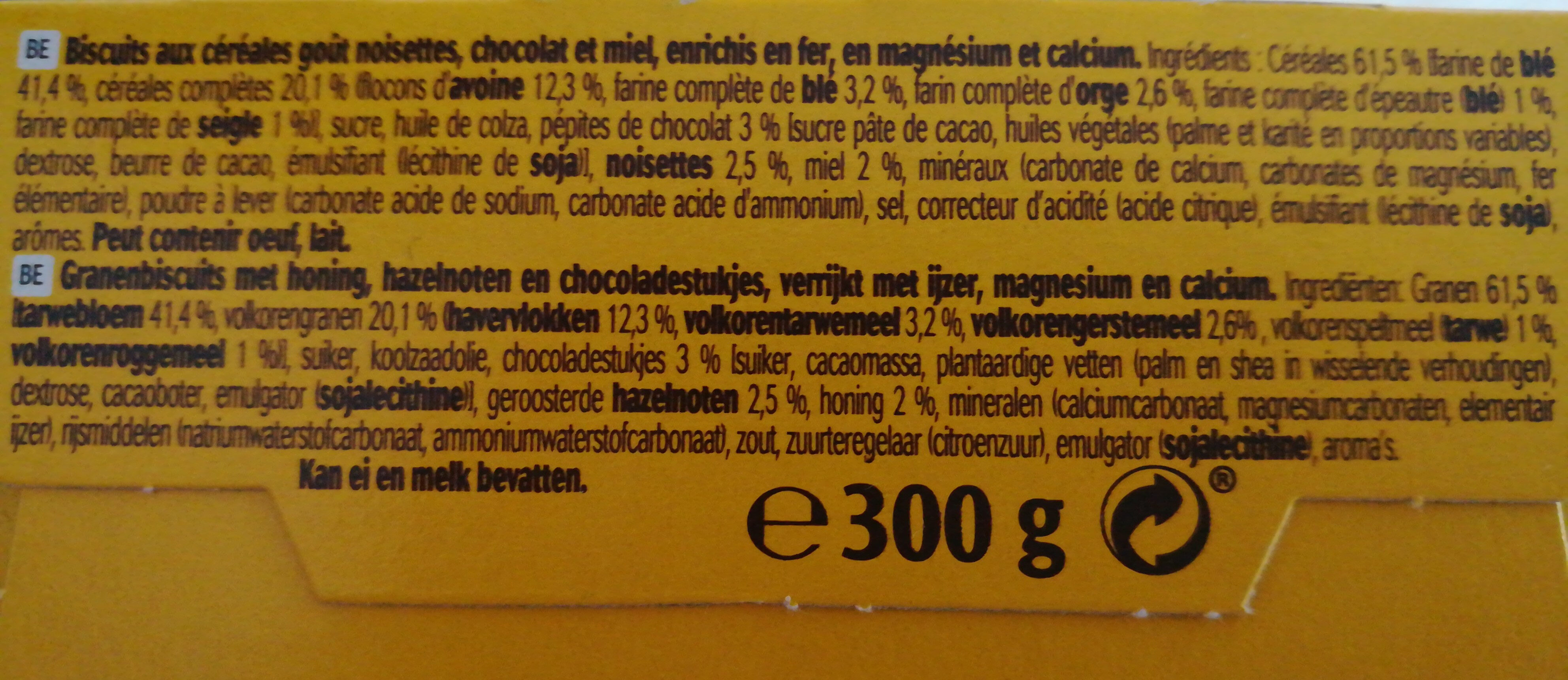 LU BelVita - Ingrediënten