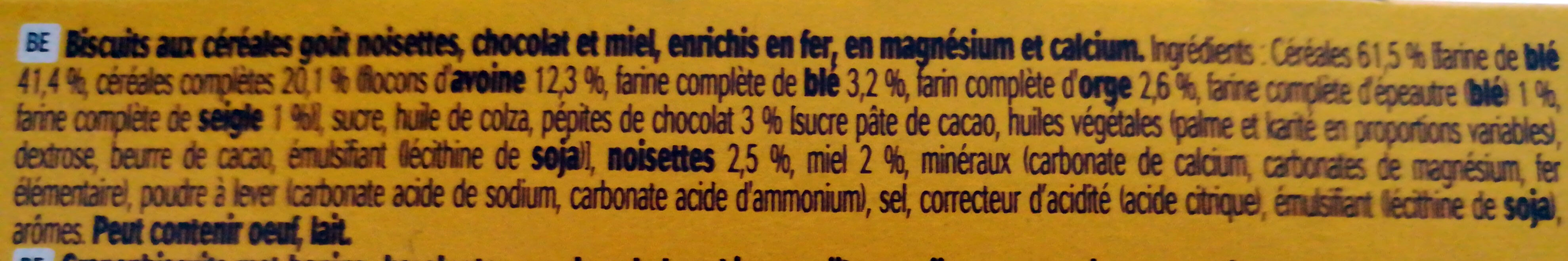 LU BelVita - Ingredients - fr