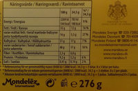Marabou japp peanut caramel - Nutrition facts