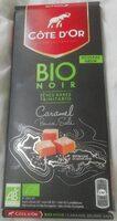 Chocolat noir bio caramel beurre salé - Produit - fr