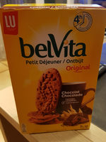 Belvita chocolat et céréales complètes - Produit - fr