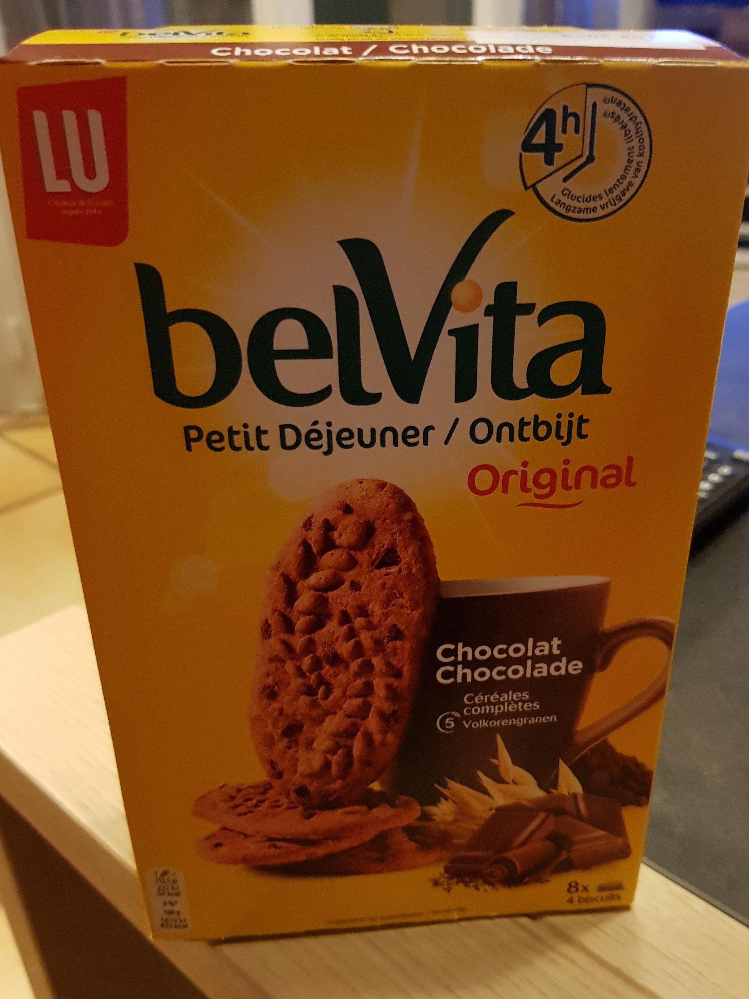 Belvita chocolat et céréales complètes - Product - fr