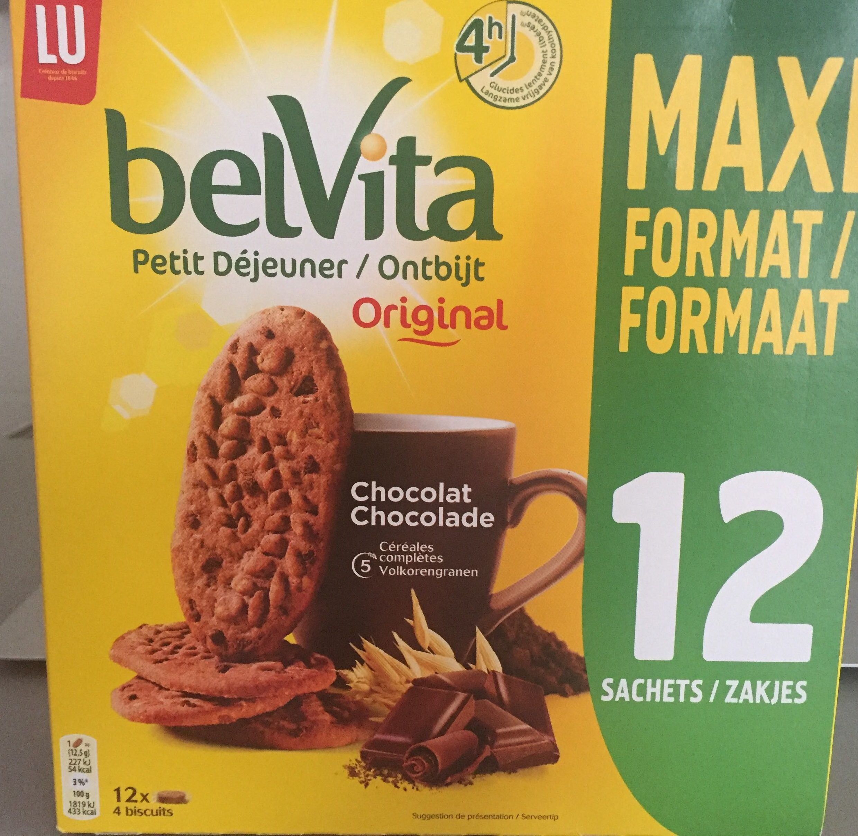 Belvita petit dejeuner chocolat - Produit