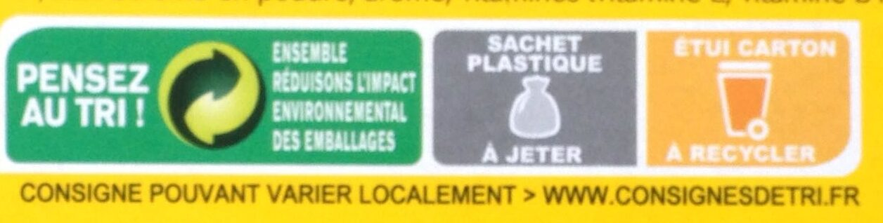 belvita - Instruction de recyclage et/ou information d'emballage - fr