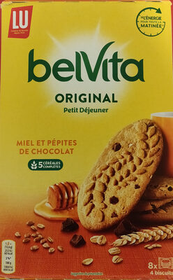 Belvita original Miel et pépites de chocolat - Produit - fr