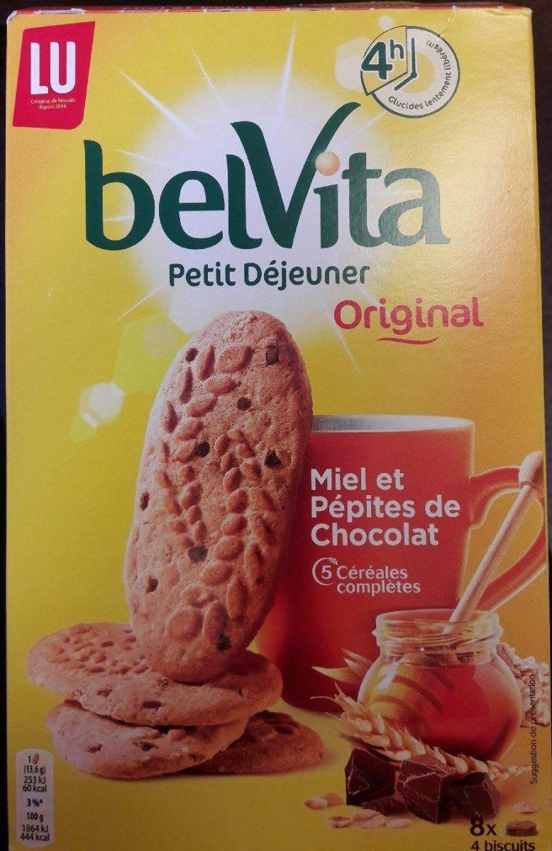 Belvita Petit-Déjeuner / Miel et Pépites de chocolat - Produit