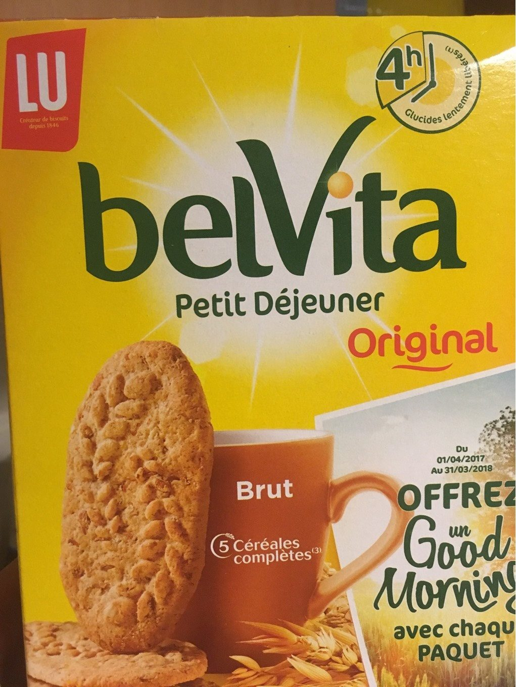 belvita petit dejeuner brut cereales lu 400 g e. Black Bedroom Furniture Sets. Home Design Ideas
