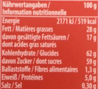 Magic mix - Nutrition facts