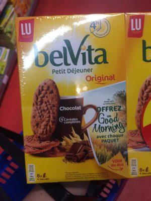 Biscuits chocolat Belvita - Produit