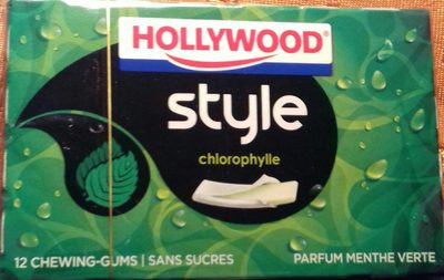 Style chlorophylle parfum menthe verte - Product