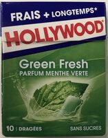 Chewing gum Green Fresh parfum menthe verte - Product