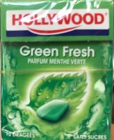 Chewing gum Green Fresh parfum menthe verte - Produit
