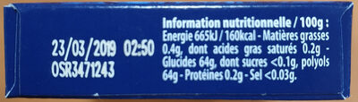 Power fresh - Nutrition facts - fr