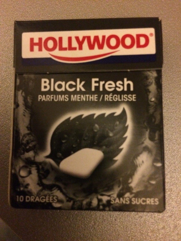 Hollywood Black Fresh parfum menthe réglisse - Product