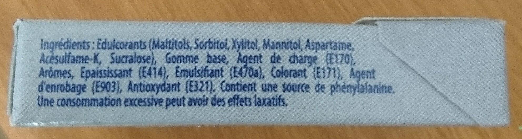 Hollywood Blancheur parfum menthe polaire s/ sucres - Produit