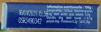 Hollywood Blancheur parfum menthe polaire s/ sucres - Informations nutritionnelles