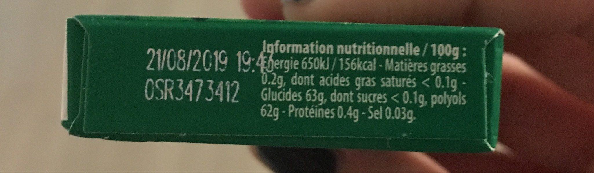 Hwd greenfresh x5 oe - Nutrition facts