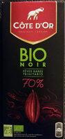 Chocolat Bio Noir 70% de cacao - Product - fr
