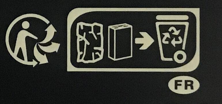 Bio Noir Fèves Rares Trinitario 70% de cacao - Recycling instructions and/or packaging information - fr