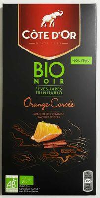 Chocolat noir orange bio - Product - fr