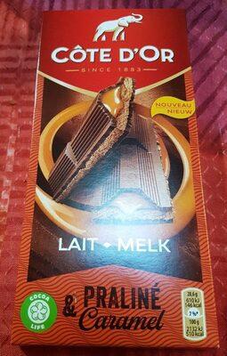 Chocolat praliné caramel - Product - fr
