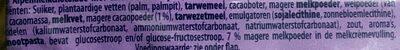 Milka Oreo - Ingrediënten - nl